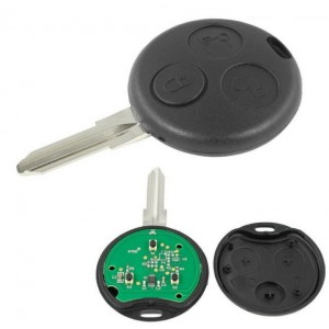 Telecomando Chiave 3 Tasti 433 MHz Smart