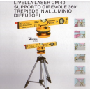 Livella laser cm 40