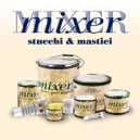 Stucco poliestere a spatola Mixer 750 ml