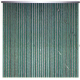 Tenda pianosa pvc filo avvolto